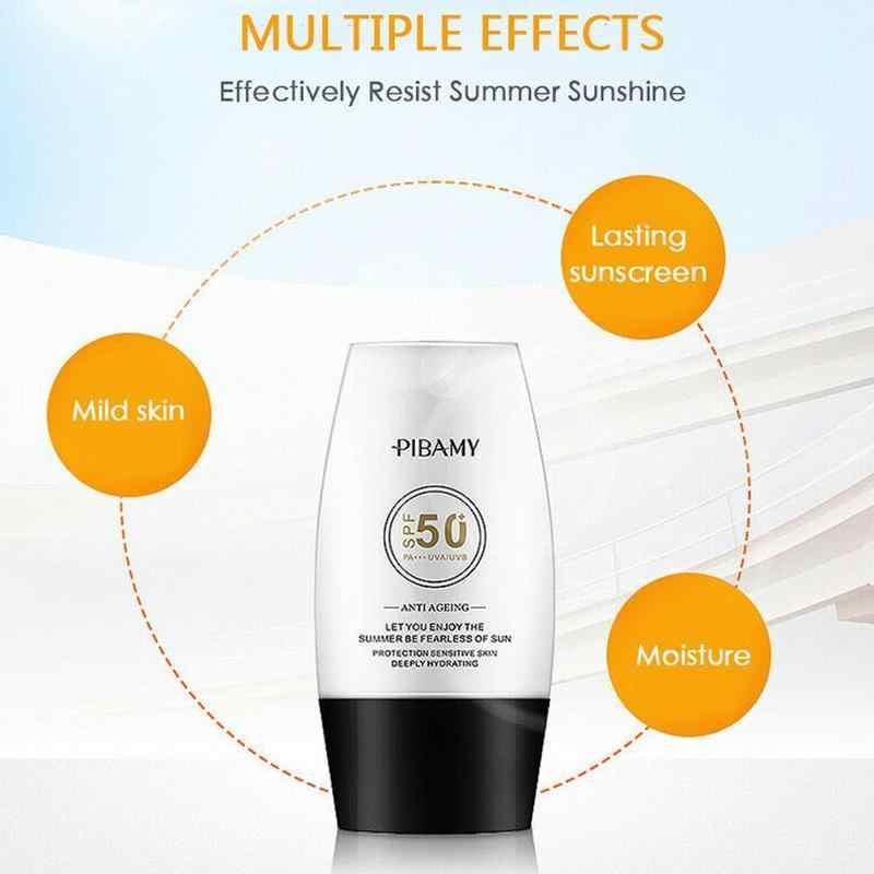 קרם הגנה התבהרות קרם עמיד למים Uv הגנת קרינת שמש Protetor קרם פנים גוף Sunblock הלבנת קרם 30ml