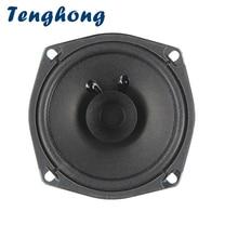 Tenghong 1pcs 5 Inch 120MM Full Range Speaker 4Ohm 5W Audio Speaker Ceiling Lighting Keyboard Broadcast Loudspeaker Home Theater
