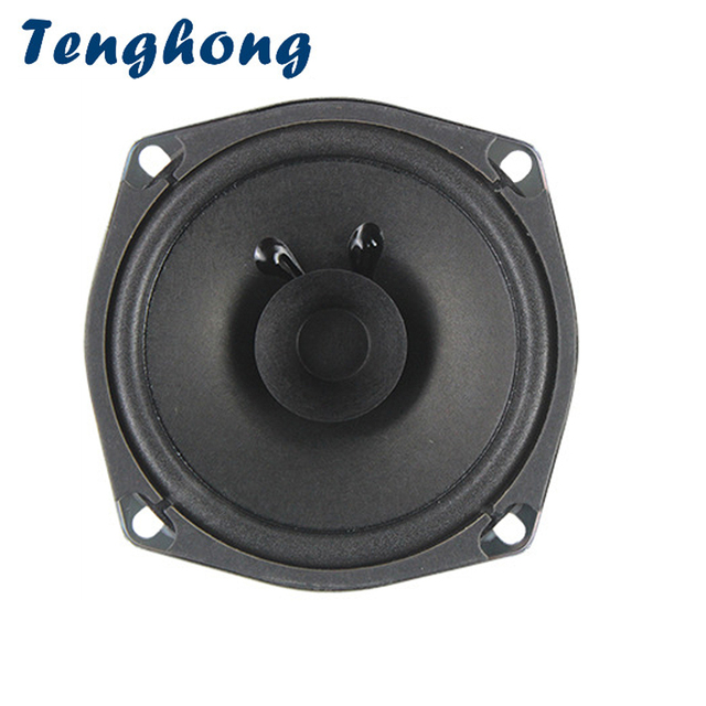 Tenghong 1pcs 5 Inch 120MM Full Range Speaker 4Ohm 5W Audio Speaker Ceiling Lighting Keyboard Broadcast Loudspeaker Home Theater