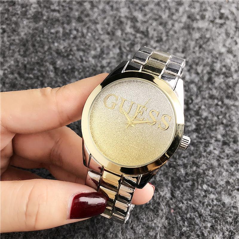 Думаю, роскошная фирма, кварцевые наручные часы под платье женсике часы серебряный браслет женские часы из нержавеющей стали часы Водонепроницаемый часы GS6 Женские часы    АлиЭкспресс