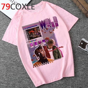 RIP JUICE WRLD 999 Rest In Heaven T Shirt Unisex Funny Cartoon T-shirt Fashion Anime Graphic T-shirt Hip Hop Top Tees