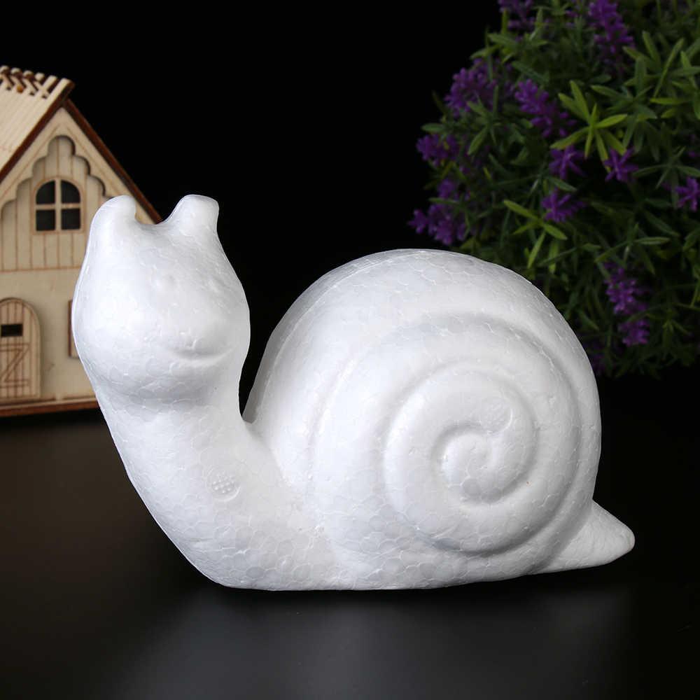 Bolas de espuma de poliestireno blanco con forma de animales, manualidades de poliestireno para niños, suministros de juguetes para fiestas, accesorios de decoración del hogar
