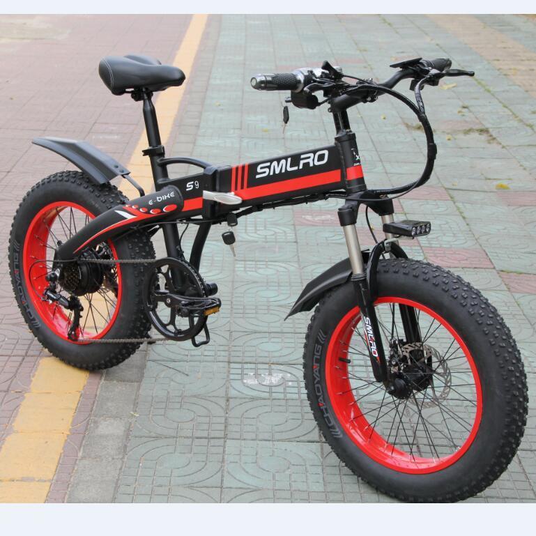 S9F 1000W Bafang Motor 14AH $amsung Battery 20 inch Fat Bike European Quality Level Foldable Electric Bicycle E Bike 1