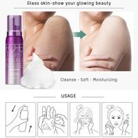 80ml Face Cleanser Removing Dead Skin Pore Tight Peeling Mousse Exfoliating Moisturizer Cleanser Oil Control Face Care 3