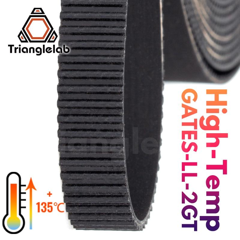 trianglelab Heat-resistant 135        273          GATES-LL-2GT 2GT belt synchronous belt GT2 Timing belt Width 9MM 6MM for 3D Printer