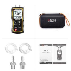 Image 5 - SW512B manometro digitale SNDWAY manometro digitale misuratore di pressione del Gas naturale differenziale digitale portatile Dropship