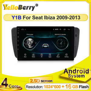HD 1024x600 touch screen Car auto radioGPS Navigation Player Stereo for Seat Ibiza 6j 2009 2010 2012 2013 Android Bluetooth FM