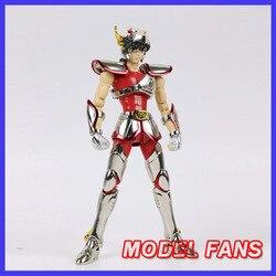 MODEL FANS in-voorraad GreatToys Grote speelgoed GT EX brons Saint Seiya V1 Pegasus helm metal armor Mythe Doek action Figure