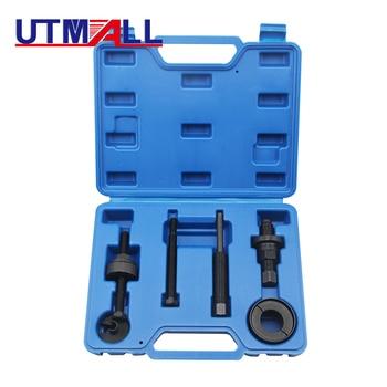 6Pcs Power Steering Pump Pulley Kit Puller Remover Installation Tool Set