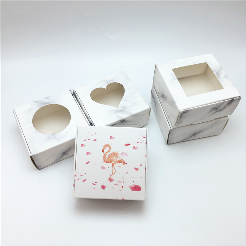 Kraft Cardboard 6.5x6.5x3cm Airplane Paper Box Handmade Soap Packaging Box/Candy Gift Box/Wedding Favor Supplies image