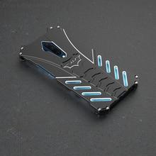 Lüks Batman elemanları alüminyum Metal kasa OnePlus 7 T/Pro Slim sert darbeye dayanıklı arka kapak durumda OnePlus7T Pro bir artı 7TPro