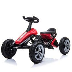 1-3ages dla dzieci gokart na pedały  4 koła pedał rower z pedał hamulca  rower System rotacji dzieci gokart