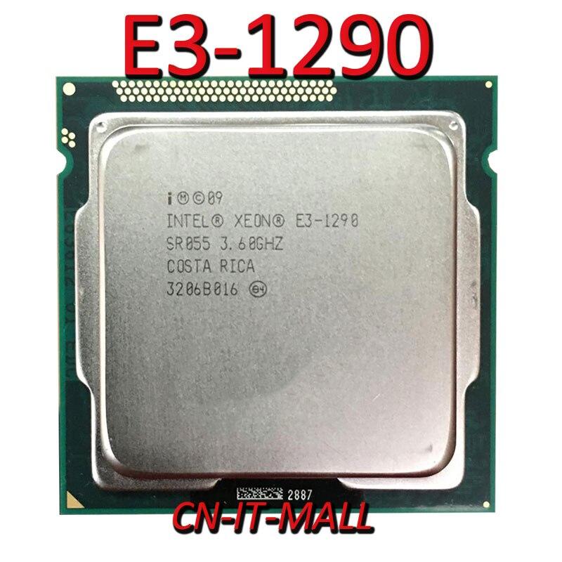 Intel Xeon E3-1290 CPU 3.6GHz 8M 4 Core 8 Threads LGA1155 Processor