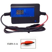 Интеллектуальный дезулфатор аккумуляторной батареи с автоматическим импульсом CLEN 400 ач, клеммы с зажимом для оживления и регенерации аккумуляторов,