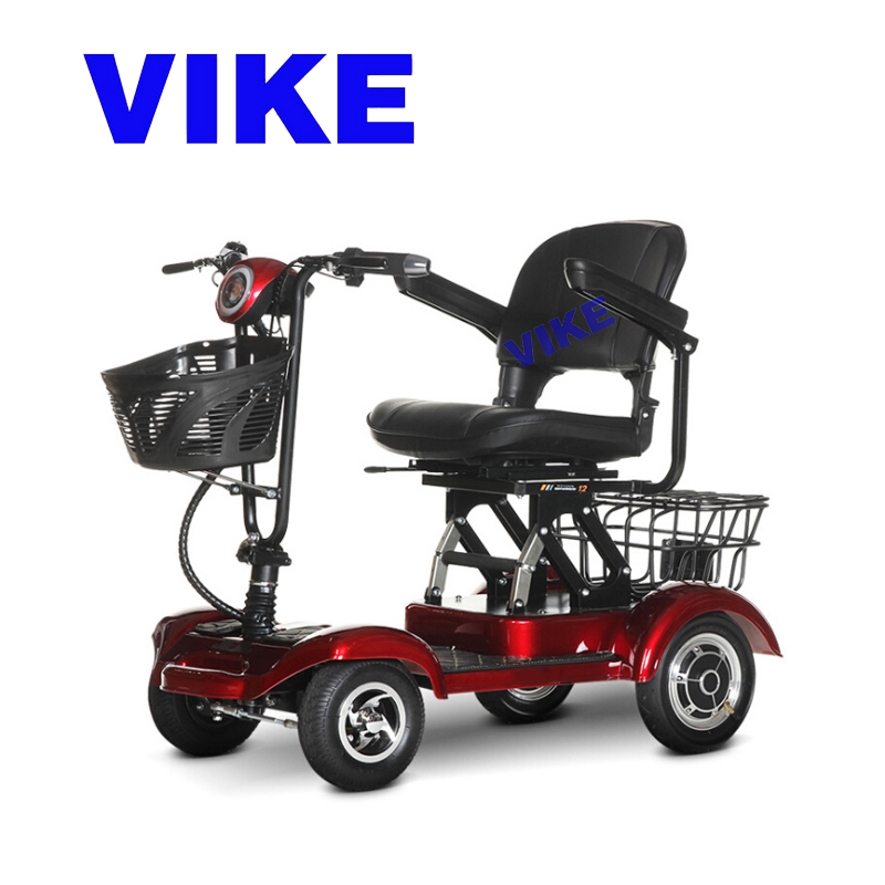 Electric four wheeled vehicle Electric wheelchair Four Wheel Scooter E-bike electric bike Electric tricycle Old people's scoote