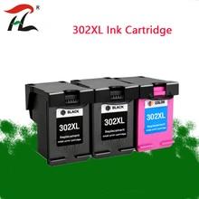 ใช้งานร่วมกับ 302XL ตลับหมึกสำหรับ HP 302 XL สำหรับ HP 302 สำหรับ HP Deskjet 2130 2135 1110 3630 3632 Officejet 3830 3834 4650