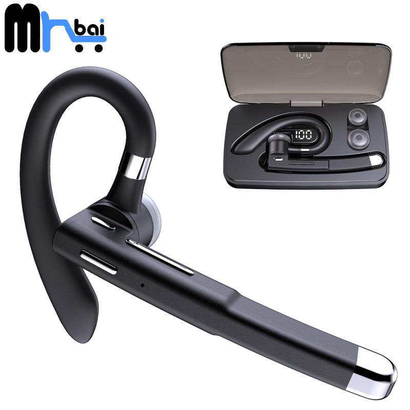 Mr. Бай Bluetooth наушники YYK-520 Бизнес модель Беспроводной наушники ручной беспроводной связи Bluetooth гарнитура двойной Применение для левого и пра...