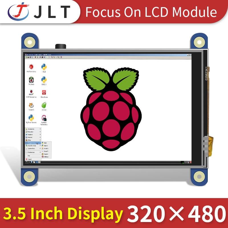 Raspberry pi-monitor de pantalla táctil, módulo de pantalla HDMI de 3,5 pulgadas, 3/4/zero W, precio de fábrica
