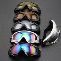Óculos da motocicleta anti motor óculos de sol esportes óculos de esqui à prova de vento dustproof proteção uv off-road hemlet bicicleta eyewear