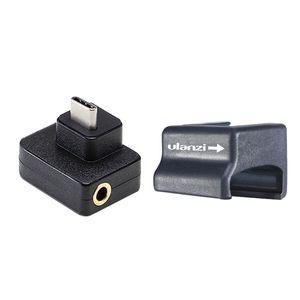 Adaptador de Audio para CYNOVA para DJI Osmo micrófono de acción externo 3,5mm montura de micrófono para enchufe de TRS para DJI Osmo A