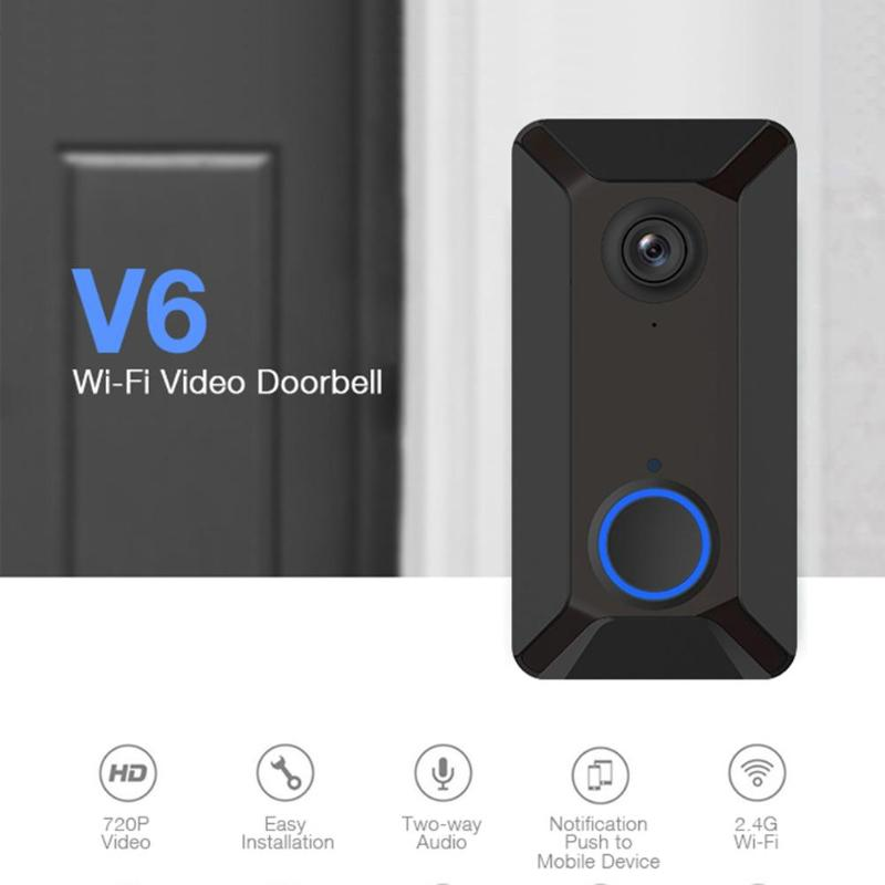 EKEN Smart Wireless Wifi Video Doorbell Intercom Phone Door Bell Camera
