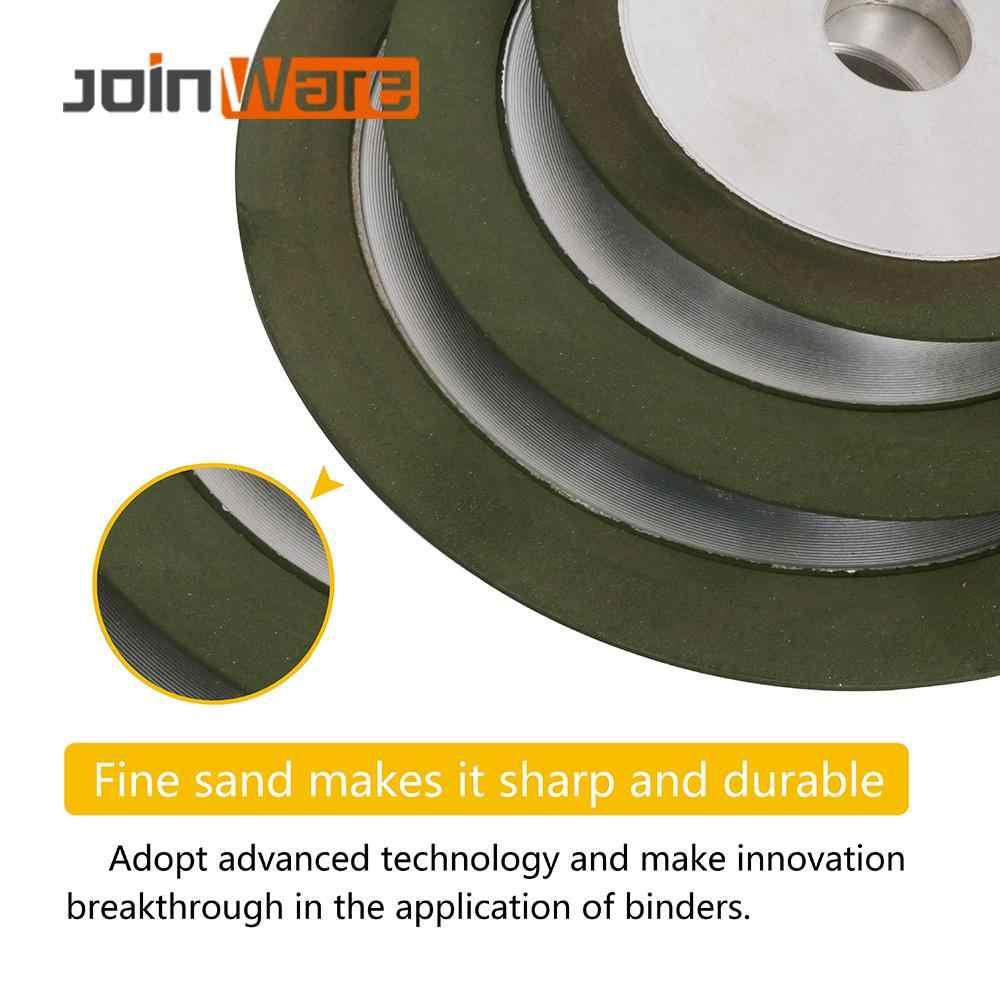 100Mm/125Mm/150Mm Diamond Grinding Wheel Gerinda Lingkaran Grit 150-320 untuk Baja Tungsten penggilingan Alat Pemotong Sharpener Grinder