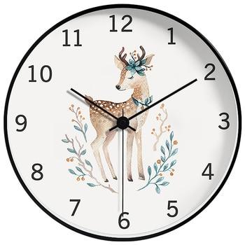 Creative Minimalist Nordic Wall Clock Art Analog Modern Design Wall Clocks Decorative Living Room Wall Watch White 2020 II50BGZ