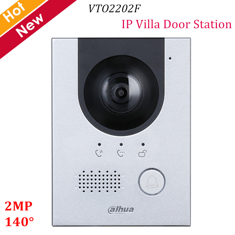 Dahua New IP Villa Door Station VTO2202F 2MP CMOS Camera 140° View Angle Night Vision And Voice Indicator Replace VTO2000A