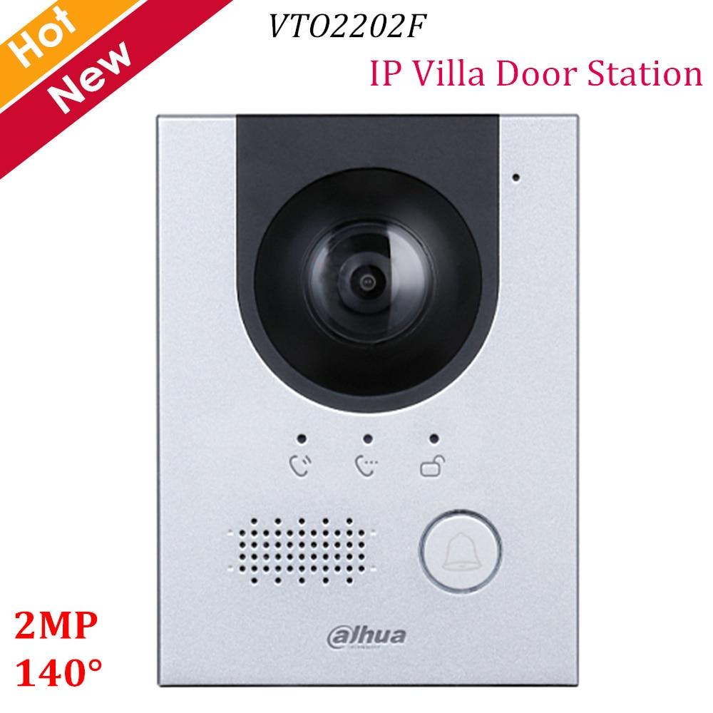 Dahua New IP Villa Door Station VTO2202F 2MP CMOS Camera 140° View Angle Night Vision And Voice Indicator Replace VTO2000A