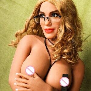 Image 4 - 167 ซม.(5.47ft) TPE Sex ตุ๊กตาตุ๊กตาใหญ่สีบลอนด์ Nerd Cool สาว Stripper ขนาดใหญ่ตูดช่องคลอดประดิษฐ์จริงขนาดอเมริกันซิลิโคนเพศตุ๊กตา