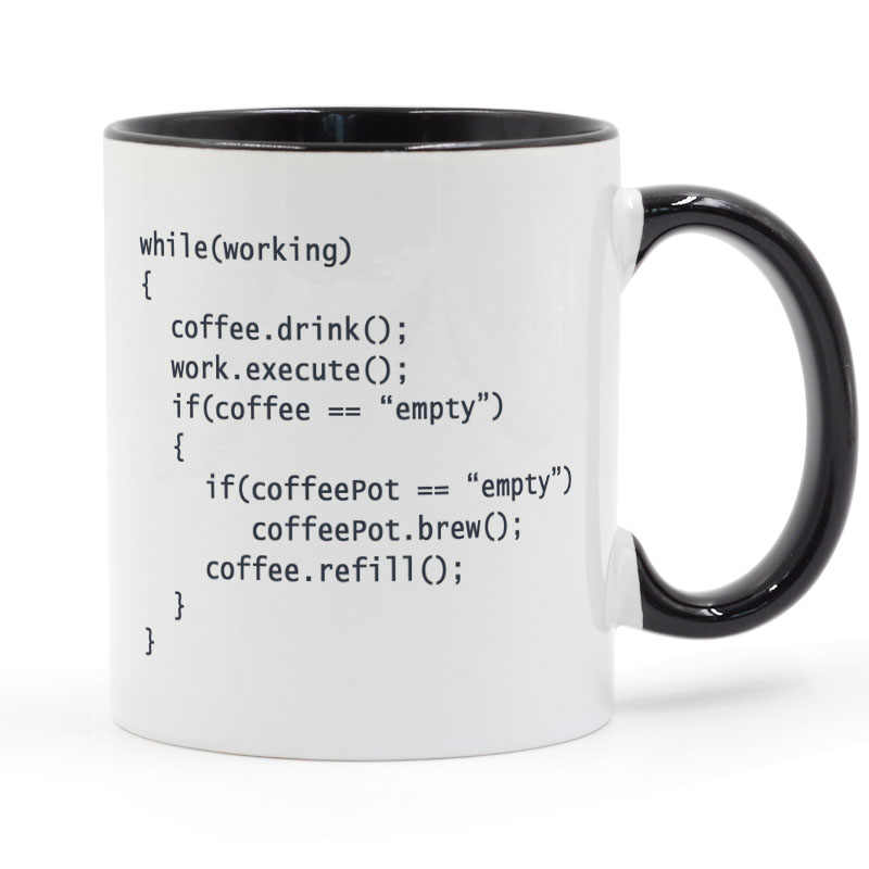 Coffee++ Program for Programmers Coffee Mug Ceramic Cup Gifts 11oz