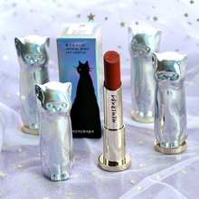 MENOW 6 Colors Cute Cat Shaped Matte Lipstick Long Lasting Lipsticks Cosmetics Velvet Red Waterproof