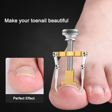 Ingrown Toenail Toe Fixer Recover Correction Device Pedicure Foot Nail Care Tool Straightening Clip Brace corrector Easy to Use