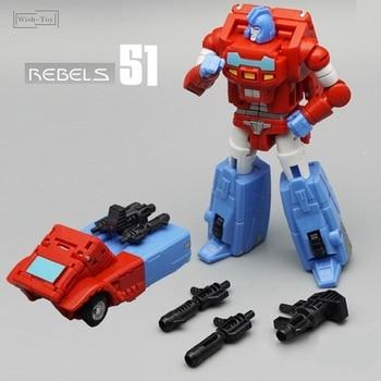 Juguete de transformación MFT MF51 MF-51 Pioneer Series Mini Orion Pax Rebel figura de acción Robot niños juguetes colección de deformación
