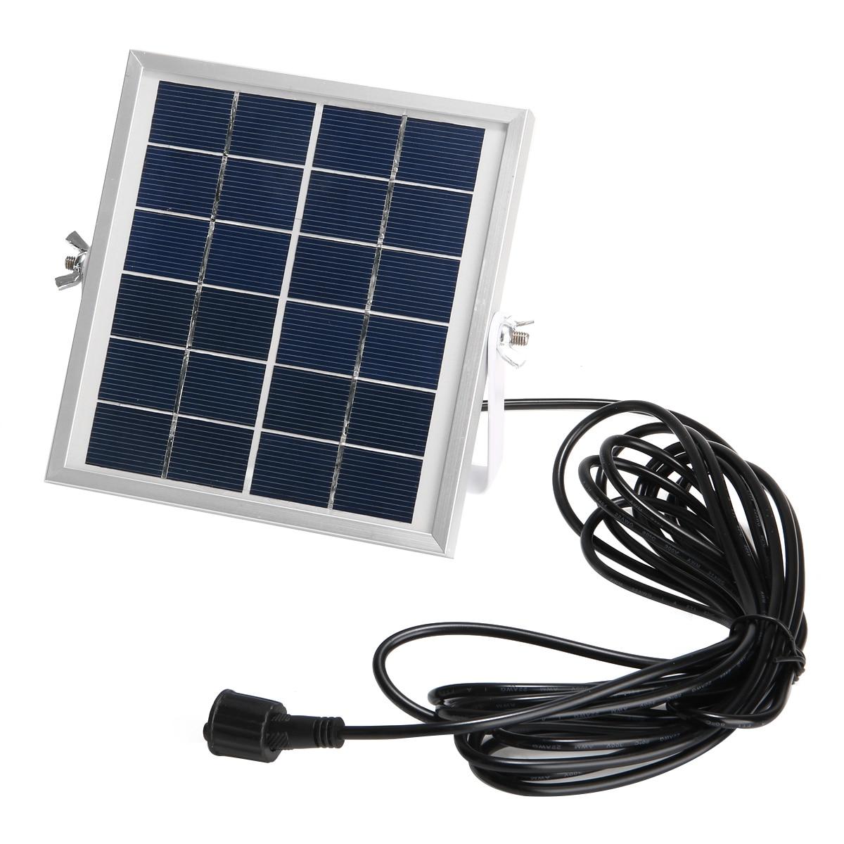 Lâmpada solar ao ar livre 10 w