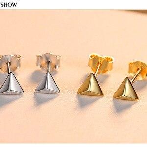 S925 silver earrings female si