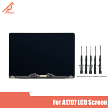 Silver gray Original New lcd screen Assembly For Macbook Pro Retina 15 A1707 LCD Display Screen Late 2016 Mid 2017 wolive for macbook pro retina 15 a1707 2016 2017 mptr2ll a mptt2ll a uk keyboard