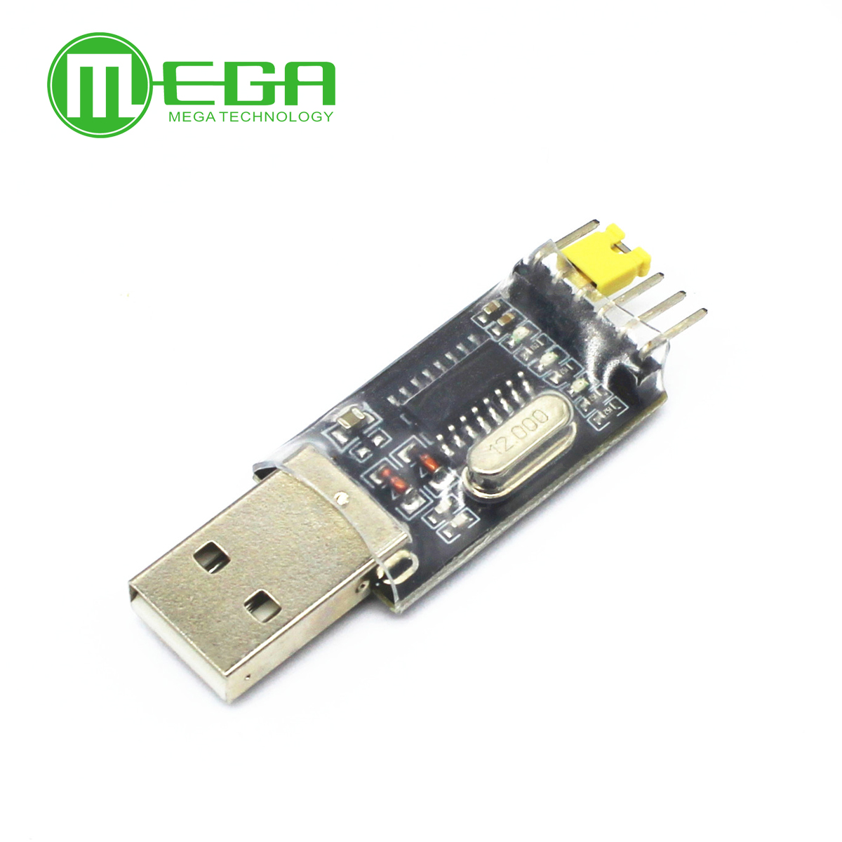 2PCS USB To TTL RS232 CH340G Converter Módulo Adapter Replace Pl2303 CP2102