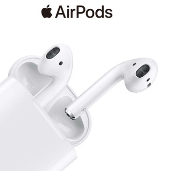 Original Apple AirPods 2nd Wireless headset with Charging Case Bluetooth Earphone Noise Reduction InEar for iPhone iPad