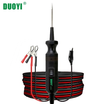 yd208 electrical system circuit tester electrical system diagnostics autek yd 208 power probe more powerful same with pt150 DUOYI DY18 Car Circuit Tester Power Probe Automotive Diagnostic Tool 12V 24V Electrical Current Voltage Integrated Power Scanner
