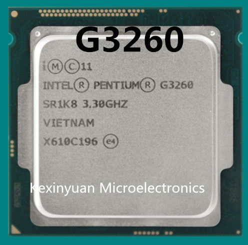 Intel Processor Processor G3260 LGA1150 22 Nanometers Dual-Core 100% Working Properly Desktop Processor