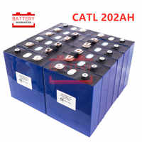 16PCS CATL LIFEPo4 battery 3.2v200AH 2019 new Rechargeable Batteries cell for 48V200AH for RV SOLAR EV Marine EU US TAX VAT FREE