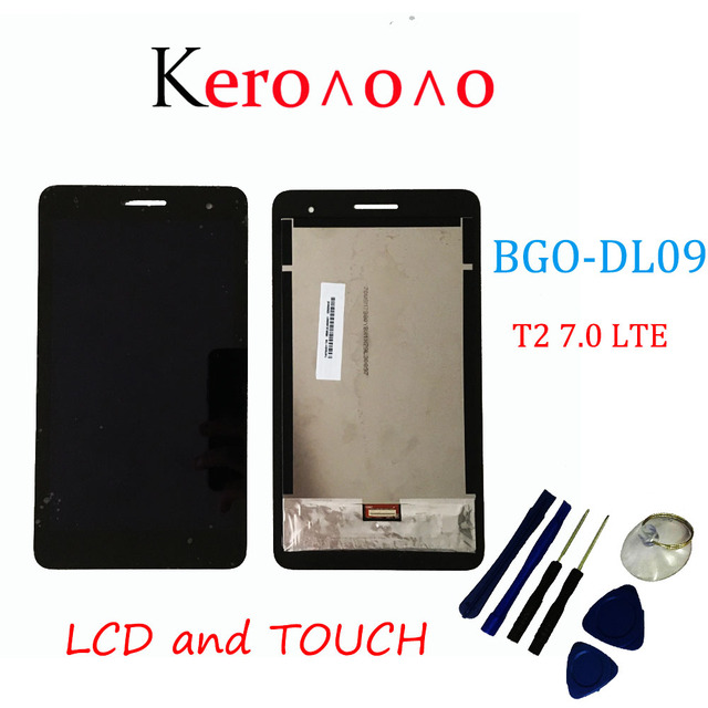 עבור Huawei MediaPad T2 7.0 LTE BGO DL09 תצוגת LCD עם מסך מגע Digitizer עצרת + כלים