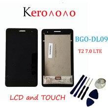 لهواوي MediaPad T2 7.0 LTE BGO DL09 شاشة LCD و مع شاشة تعمل باللمس محول الأرقام الجمعية + أدوات
