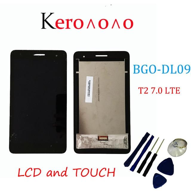 Para Huawei MediaPad T2 7,0 LTE BGO DL09 pantalla LCD y con montaje de digitalizador con pantalla táctil + herramientas