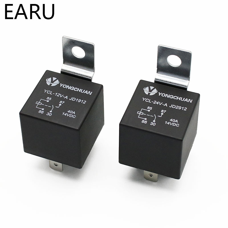 H6f5cf540f8cb41ccab97530d95bd6a07K - 4 5 Pin 4P 5P 40A Waterproof Car Relay Long Life Automotive Relays Normally Open DC 12V/24V Relay For Head Light Air Conditioner