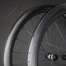 Desconto personalizado swiss estrada bicicleta aero dimple rodas superfície de golfe freio a disco estrada dt/novatec bicicleta corrida centerlock/6 parafusos