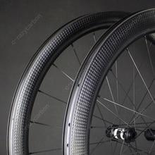 Descuento personalizado Swiss ruedas aerodeslizantes para bicicleta de carretera, freno de disco para superficie de Golf DT/Novatec, bloqueo central de carreras, 6 pernos