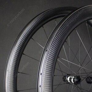 Image 1 - Rabat niestandardowy szwajcarski rower szosowy Aero dołek koła Golf powierzchnia drogi hamulec tarczowy DT/Novatec Bike Racing Centerlock/6 śrub
