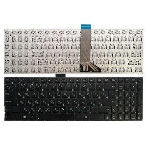 Novo teclado russo para asus x554 x554l x554la x554ld x554li x554lj x554ln x554lp preto ru teclado do portátil